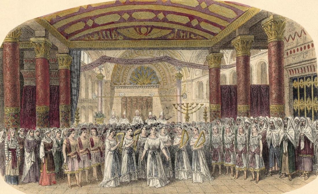 Act III. 2e tableau. estampe de Jules Gaildrau du décor de la création à la Monnaie de Bruxelles.jpg
