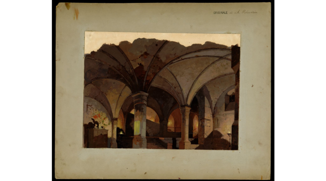 Act II - A Koenigsberg. Nei sotterranei della Società segreta Louise-bund.png