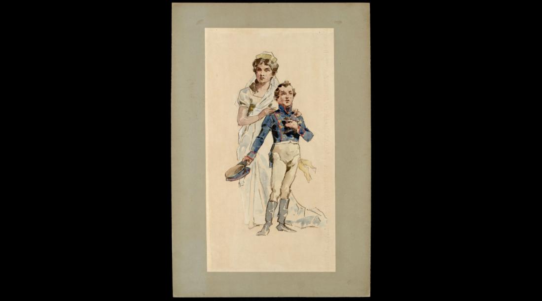 Regina Luisa e Principe Guglielmo