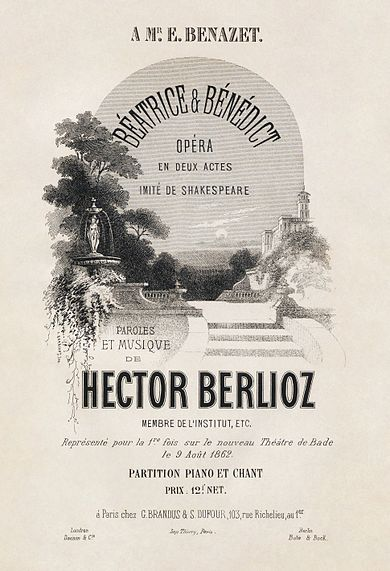 Béatrice vocal score