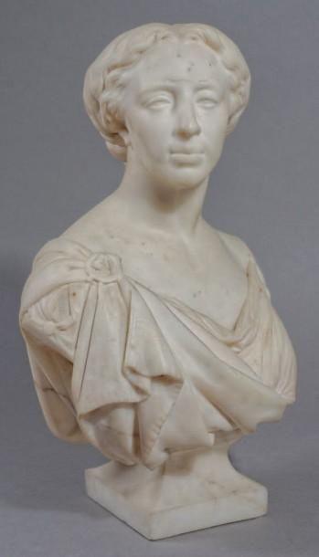 Viardot bust - Millet