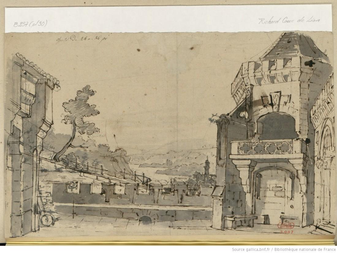 Act II - forteresse dominant la campagne - Théâtre de l'Odéon, 1824.JPEG