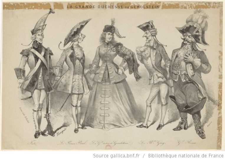 Fritz. Le Prince Paul. La G.de duchesse de Gerolstein. Le B.on Grog. G.al Boum.jpg