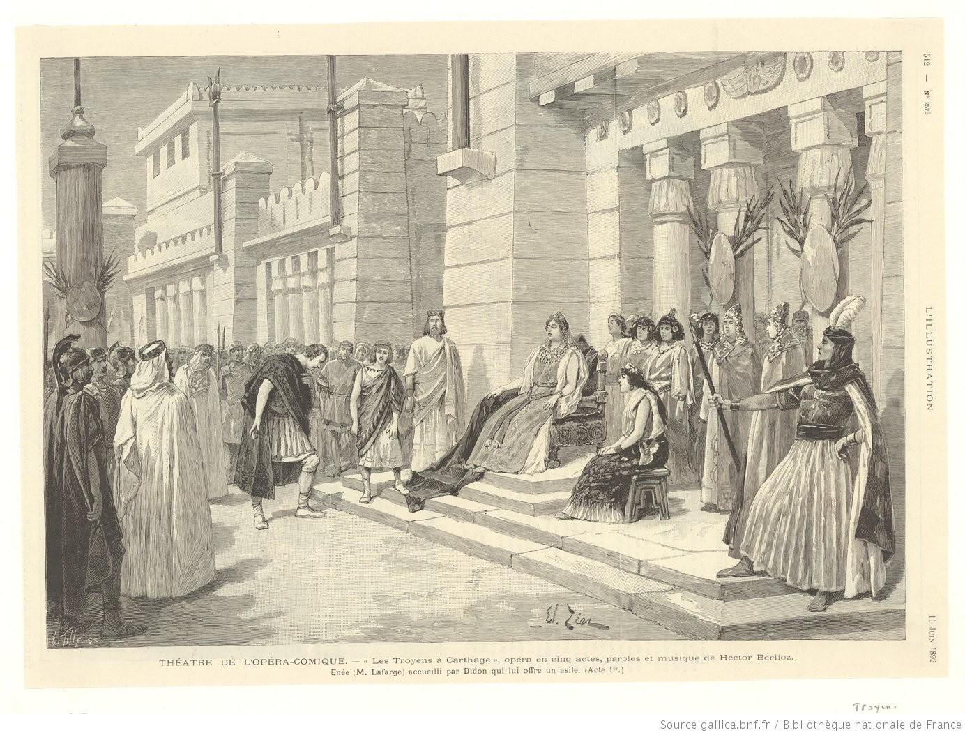 Act III - Didon offers asylum - Paris, 1892.JPEG