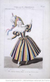 costume de Mme Polichinelle