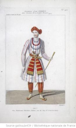 costume d'un Indien