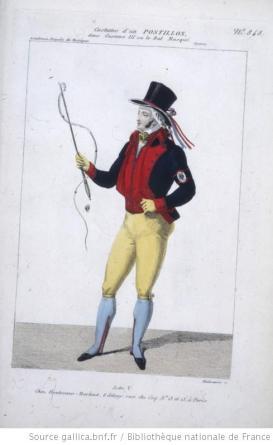 costume d'un postillon