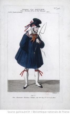 costume d'un roulier