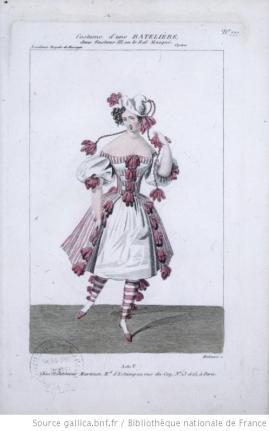 costume d'une batelière