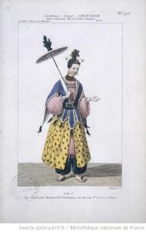 costume d'une Chinoise