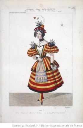 costume d'une Jeannette