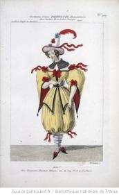 costume d'une Pierrette romantique