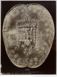 98. Adargue en cuir d'un roi de Grenade, Armeria de Madrid;